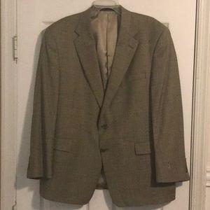 Burberry Men's Houndstooth blazer.